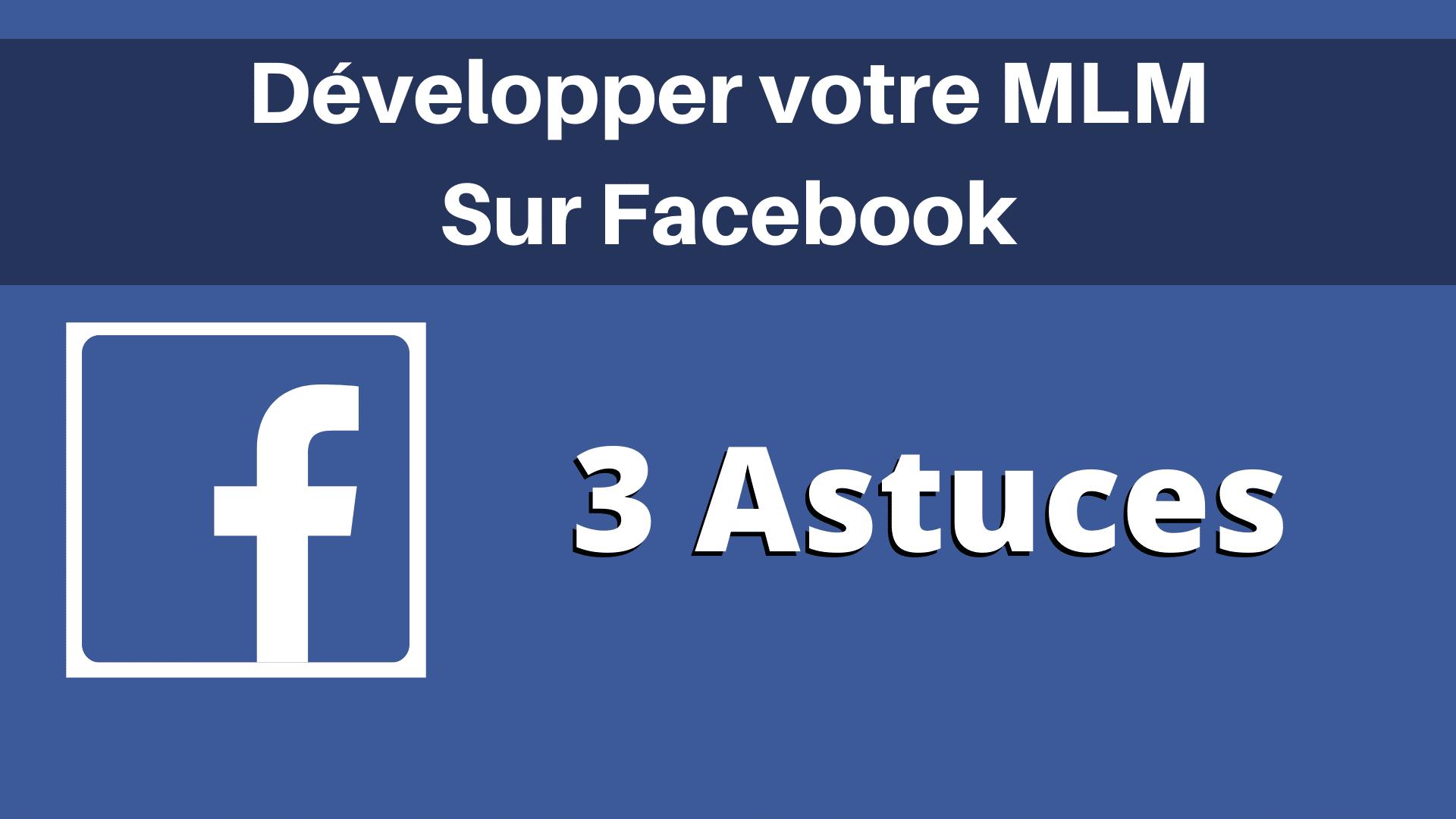MLM Sur Facebook