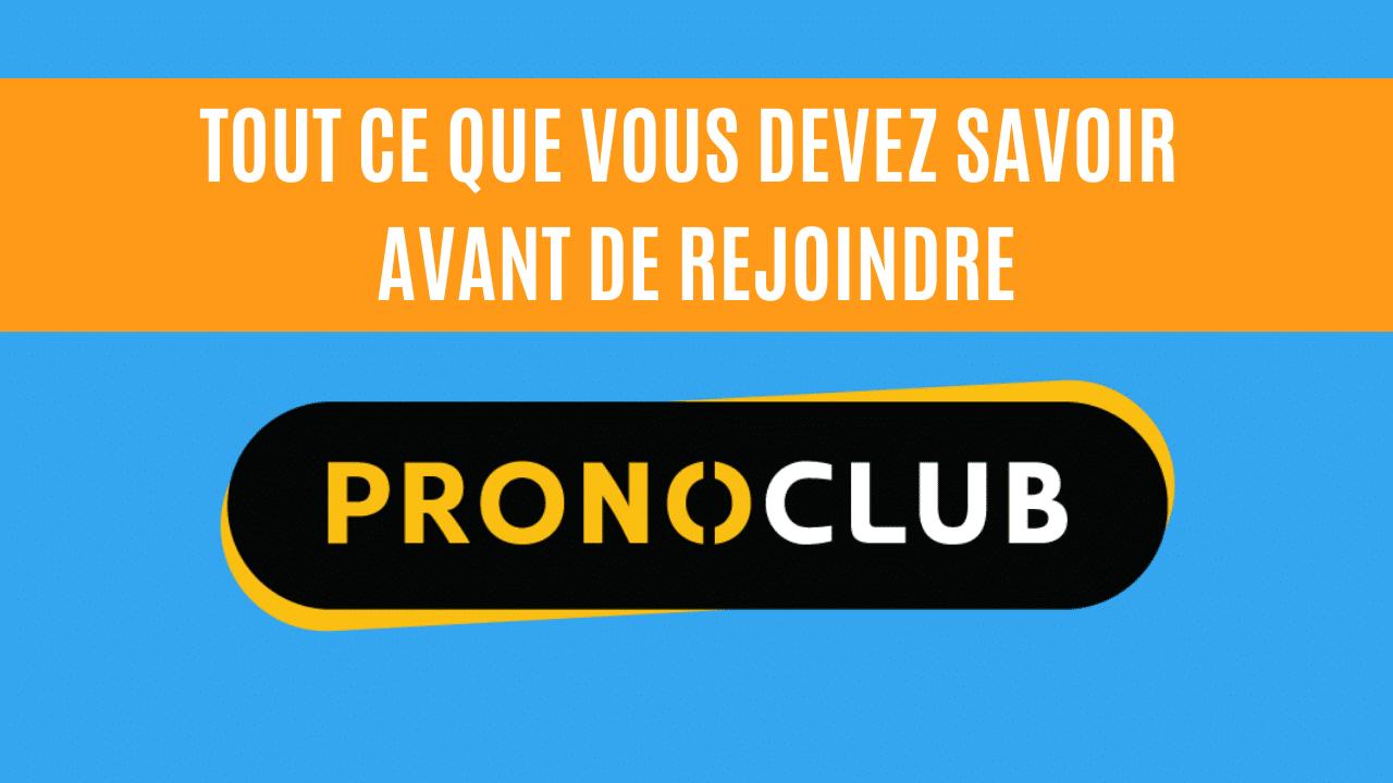 pronoclub avis