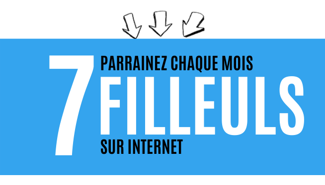 7 filleuls mlm chaque mois