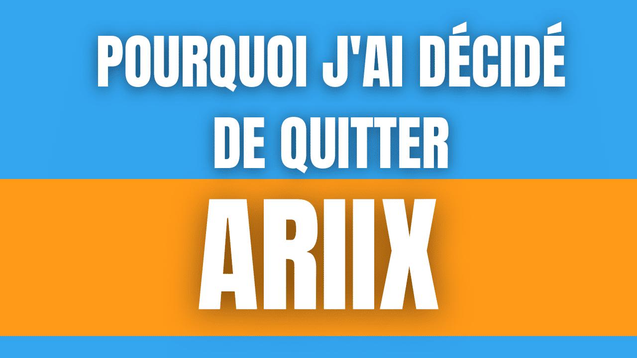 Avis Ariix