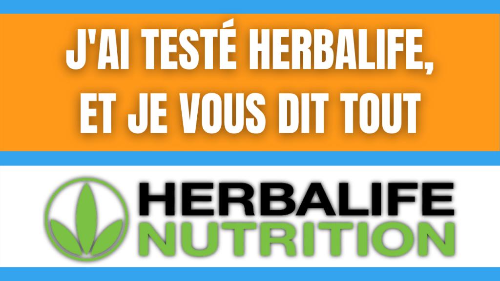 Herbalife Nutrition Avis